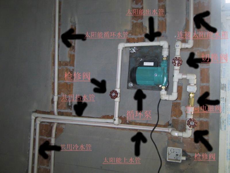 循环泵怎么接线