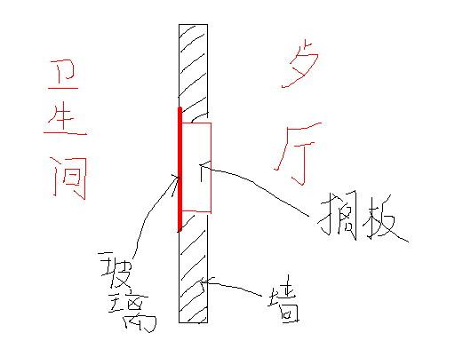 屏风设计手绘图