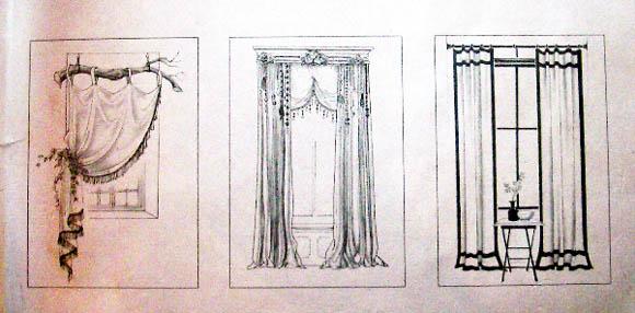 欧式窗帘门窗图片