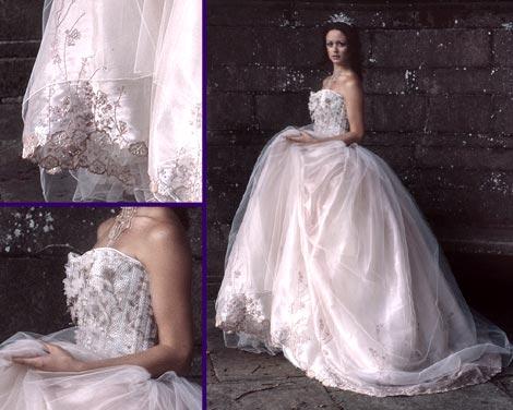 玉兰婚纱设计手稿