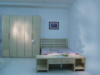 实木拼板+白橡木贴皮板式家具和群众木器