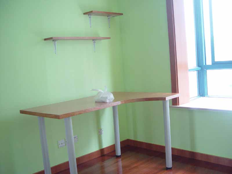 木工墙上书架设计图展示