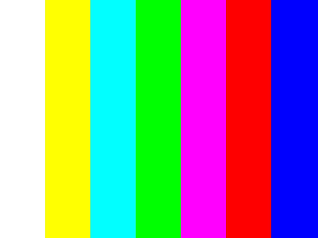 电视信号 矢量图