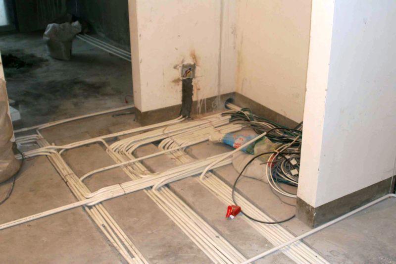 装修地暖电路布线图