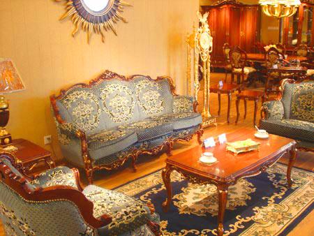 鼎联家具公司生产的系列欧式家具