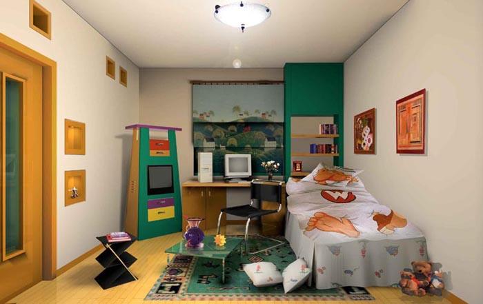 儿童房装修效果图或实景 装修日记 篱笆论坛