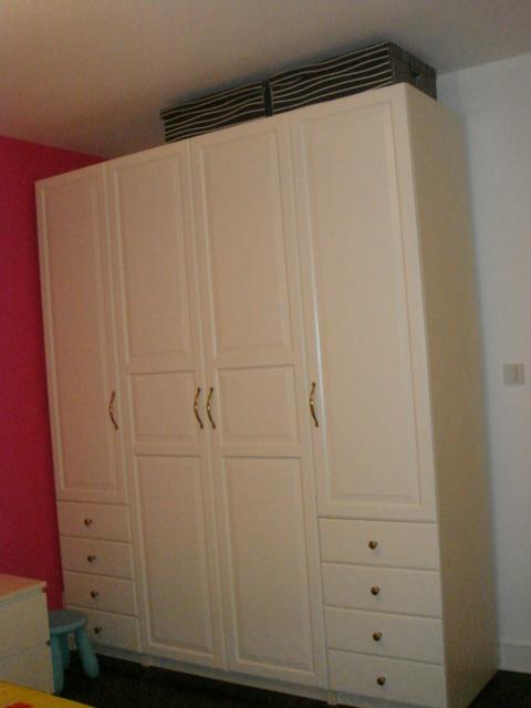 卧室壁柜内部结构图