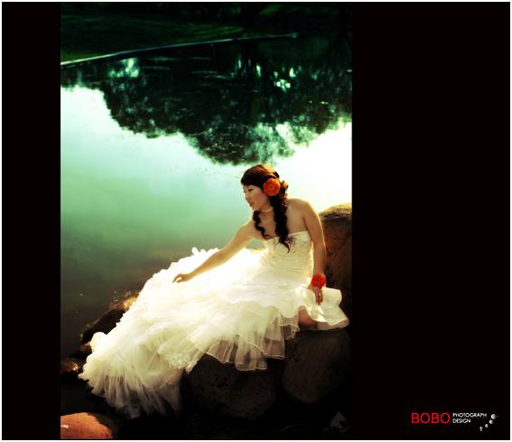 当处女遇上水瓶 全外景婚纱照 by BOBO留影坊P5起新上相册设计