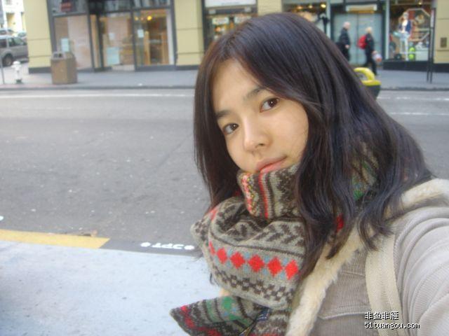 主题:宋慧乔的生活照和自拍照——见证韩国自然美女