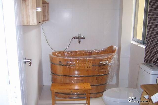 经销的是佛山木之韵的香柏木木桶