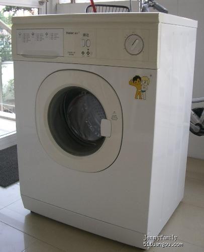 转海尔滚桶洗衣机 二手市场