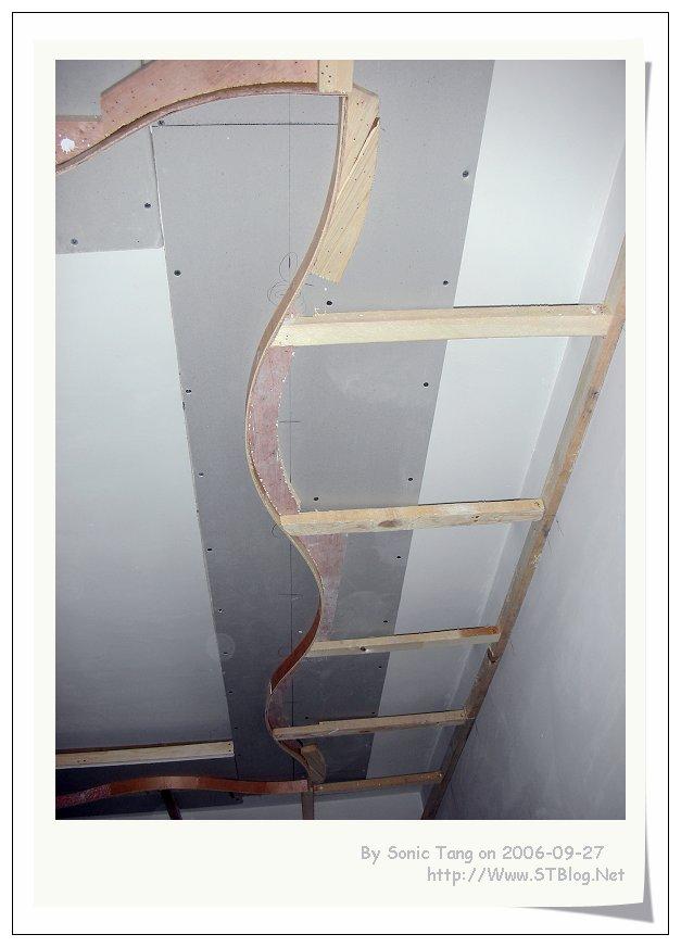 走廊石膏板吊顶造型