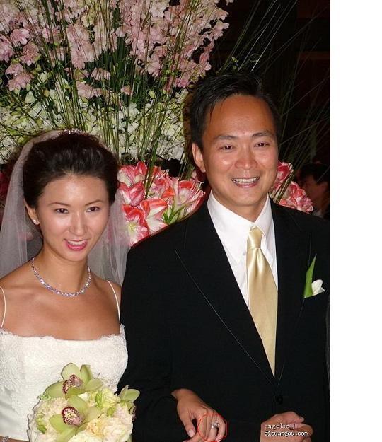 许智伟的这张照片,寒 新加结婚照.