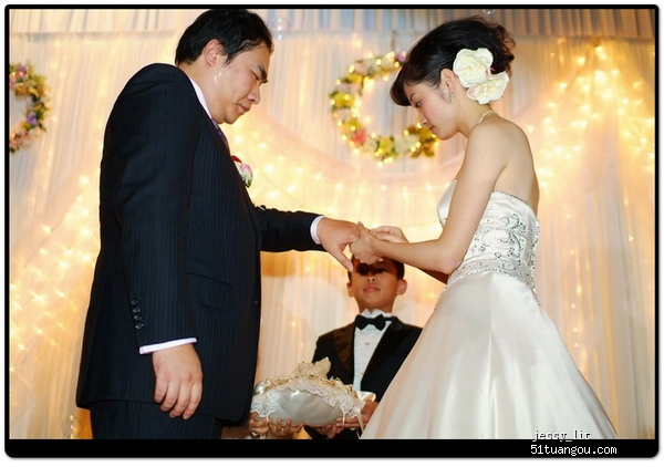 刘瑾 夏天 晴天 阳光为我们打造了一场令人震憾的婚礼