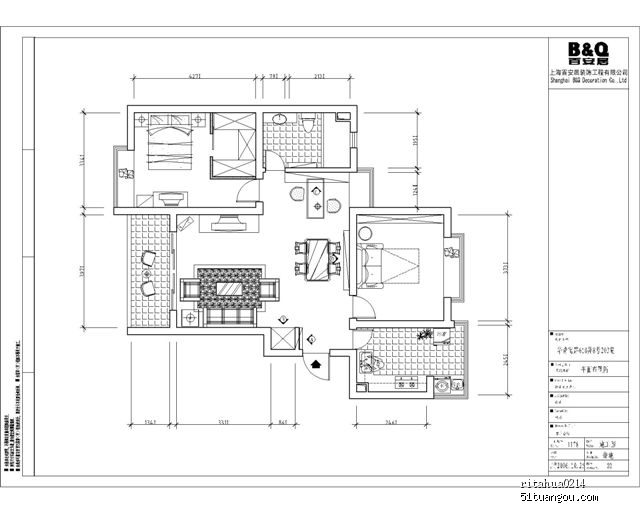 70平方米房子设计图纸展示图片