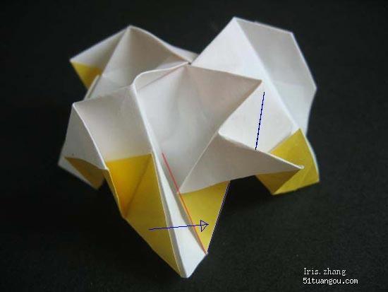 玫瑰花的折法(all)~~喜欢的进来学哈