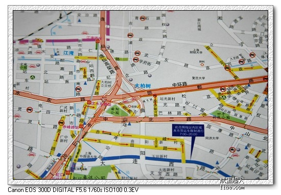 上海哪有买行车交通地图
