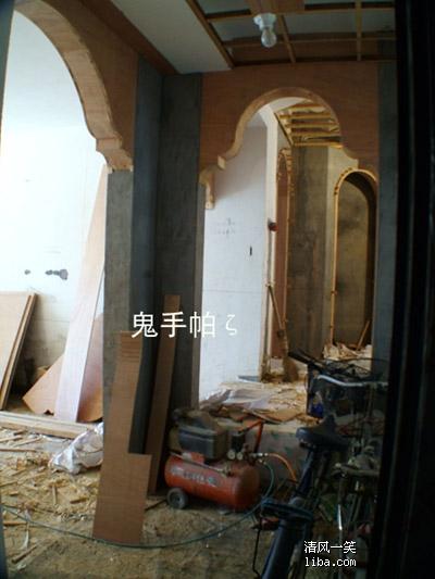 木工欧式拱门图片