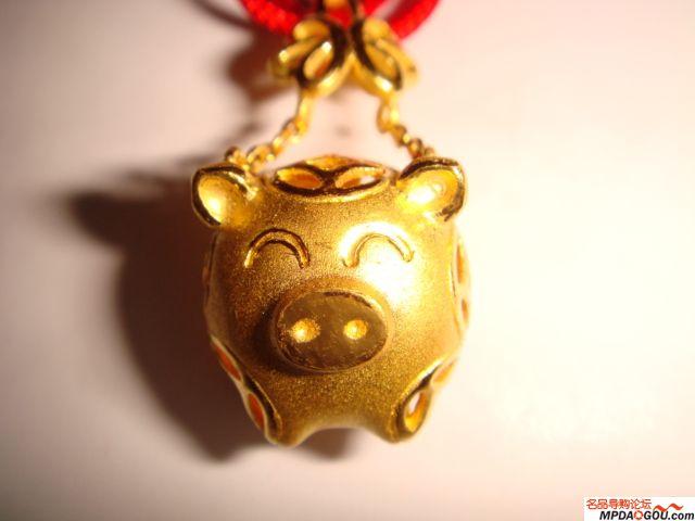 主题:猪猪们~~本命年小金猪买了吗?图片