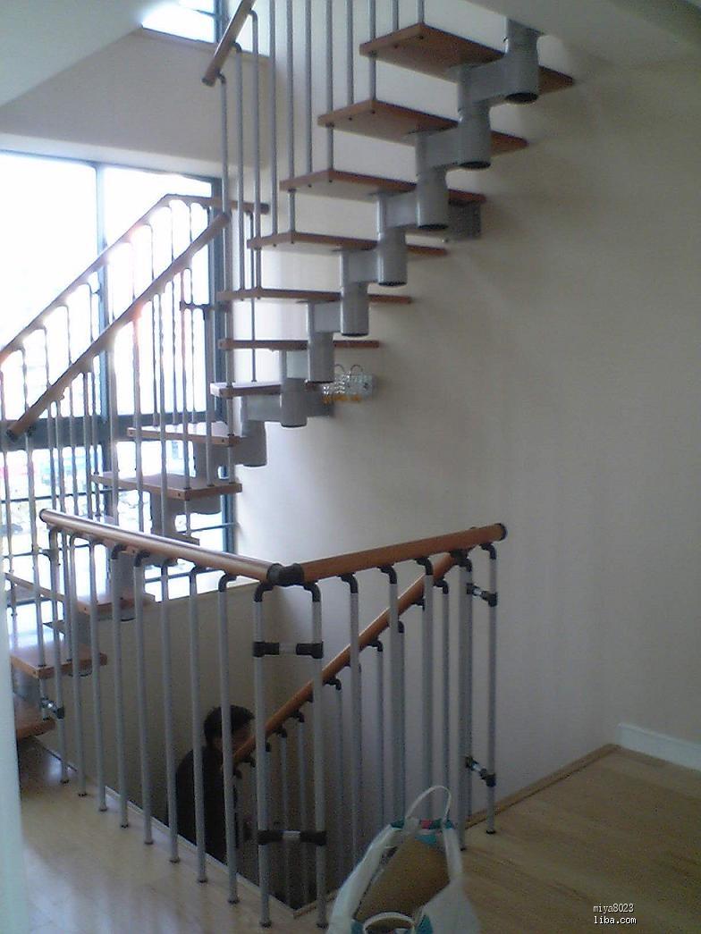 楼梯的实景或效果图