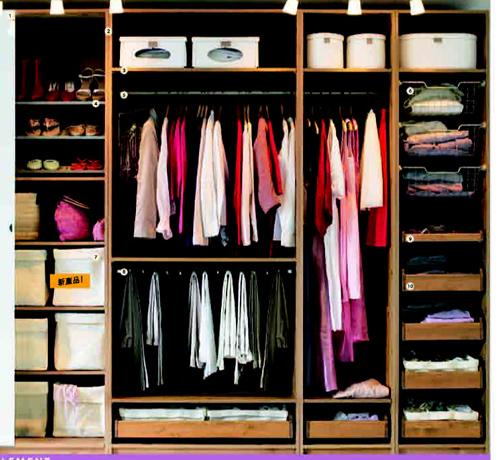 求衣柜的内部图片