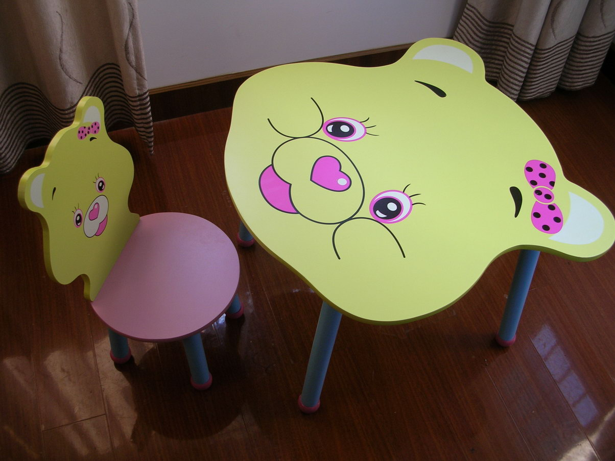 儿童卡通椅子桌子 母婴福利社