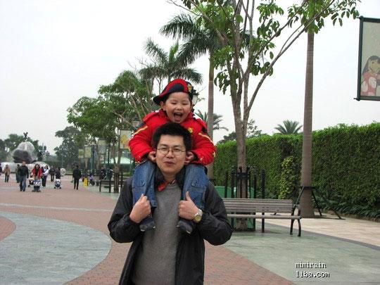 家有小明 三口之家的07年3月香港五日亲子游,入选 旅游情报 07 12图片