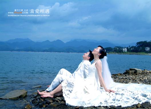 千岛湖润和酒店婚纱照图片