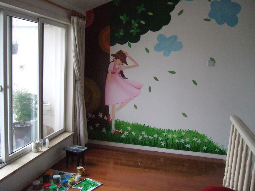手绘墙壁,超赞