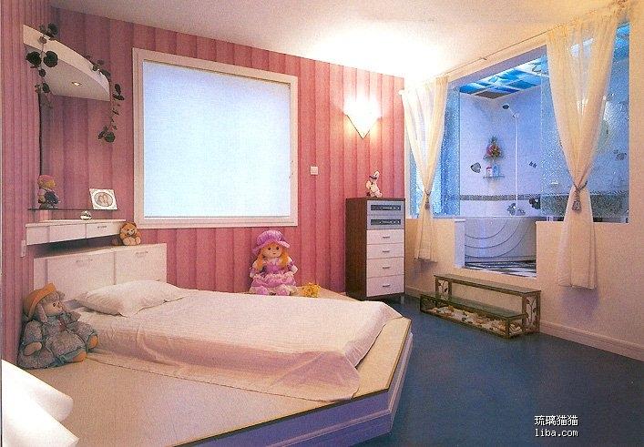 地铺床卧室设计图片