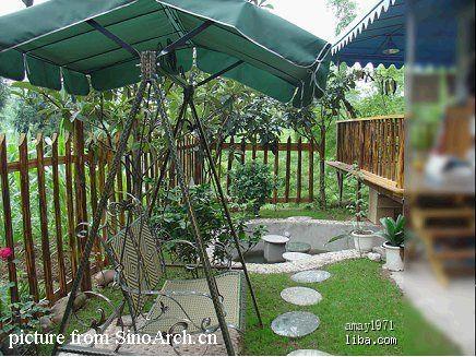 小花园围墙设计