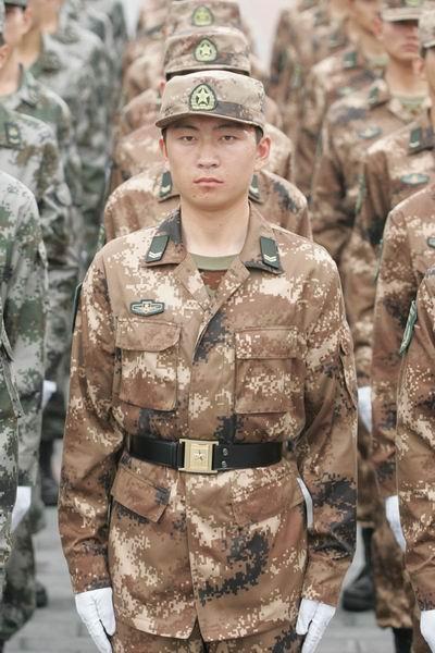 官方清晰图 解放军07式系列新军装全集