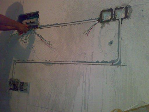四根线小吊机上下开关接线图