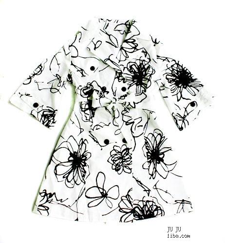 幼儿园衣服花纹设计简笔画
