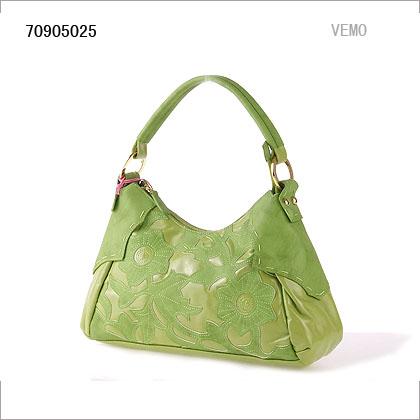 ★单肩包 pu皮/绿色