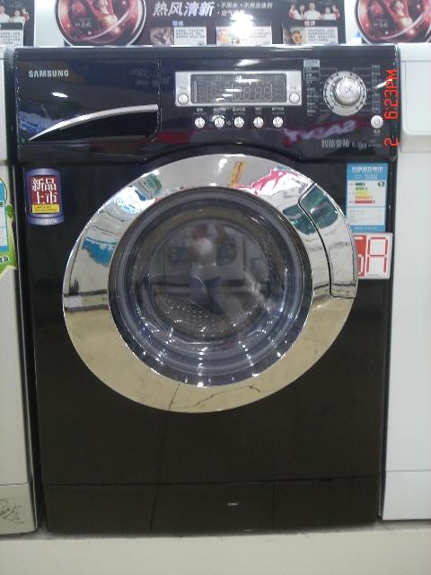 三星滚筒洗衣机+烘干机(wd-b1265d):4600rmb