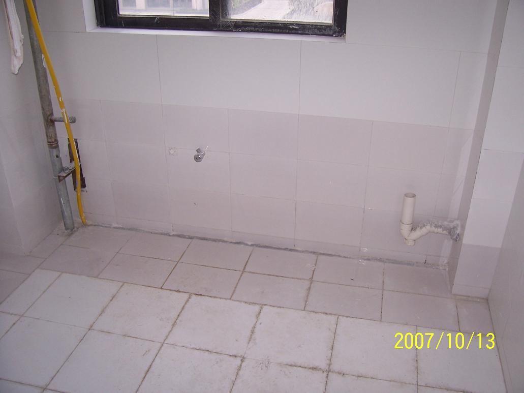 简欧式厨房贴砖