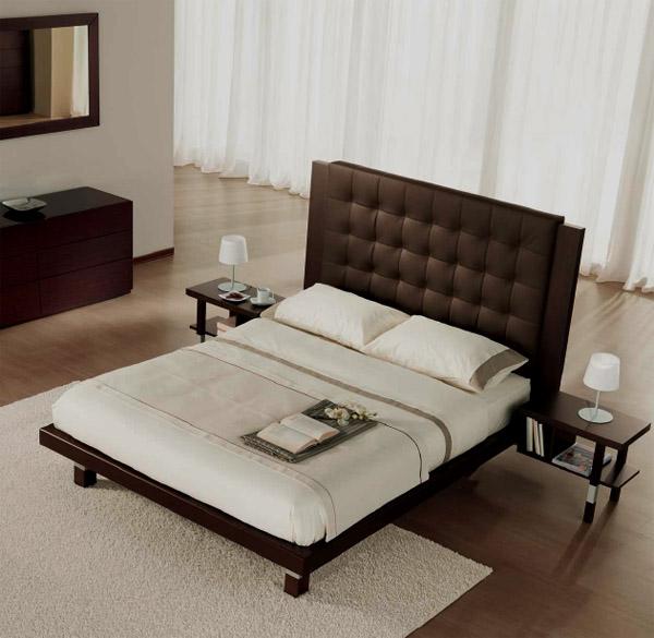 床的俯视手绘图