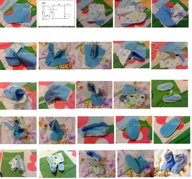 宝宝鞋制作 - 圆圆 - 圆圆的博客