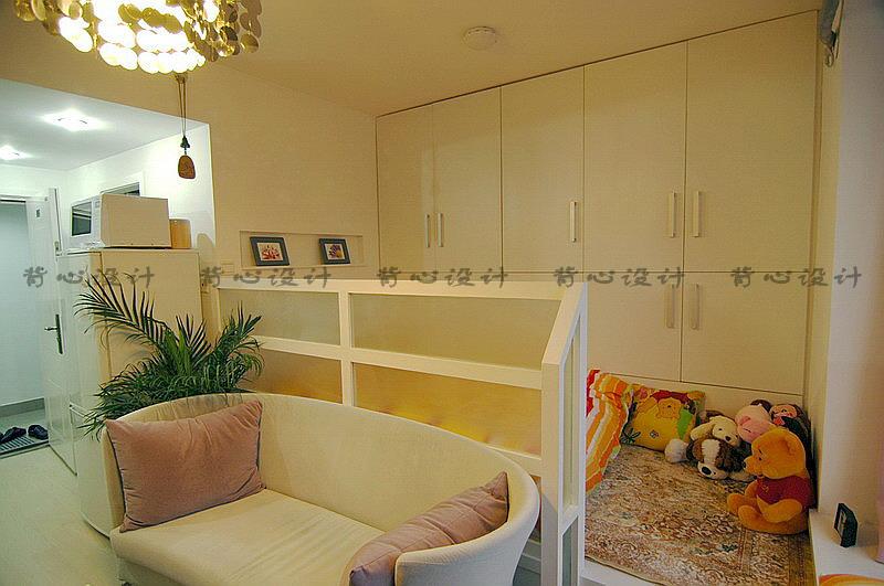 30多平方的单身公寓的设计效果图