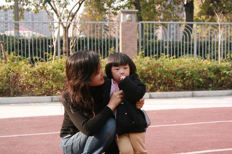 大小美女 著名的小丸子和妈妈