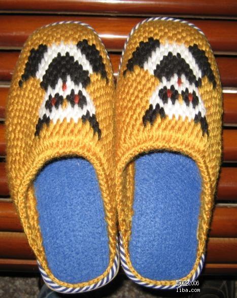 纯手工编织儿童毛衣,手工钩织毛线拖鞋-没见过的进来