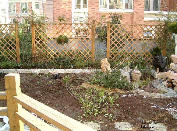70平米庭院花园设计图展示图片