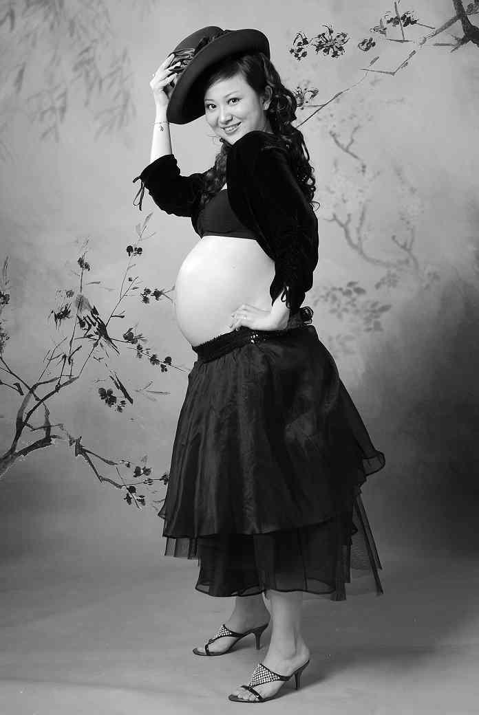皮写真及孕期生活照