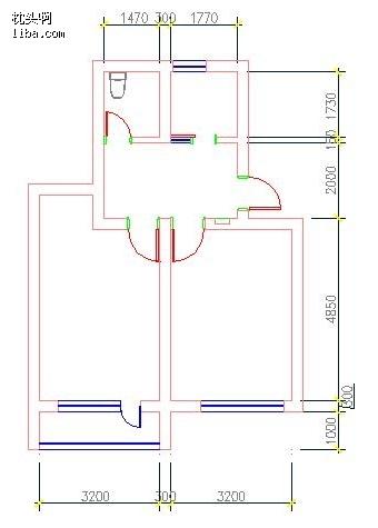 p2实验室平面图; 自己动手设计--45平米小二房--开放