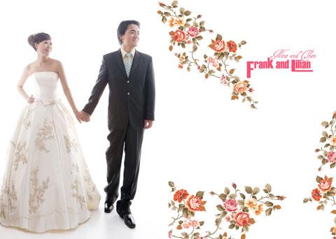 秀秀自己diy动手设计制作的婚纱照影集