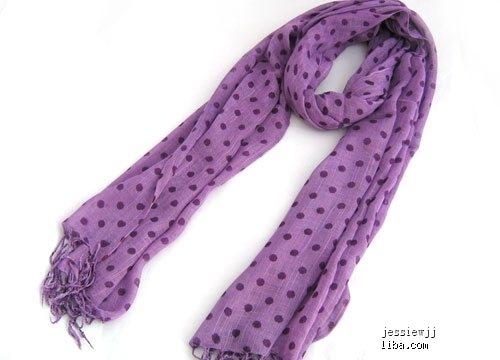 长形围巾的系法图解