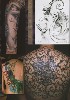 八面佛纹身内容|八面佛纹身版面设计