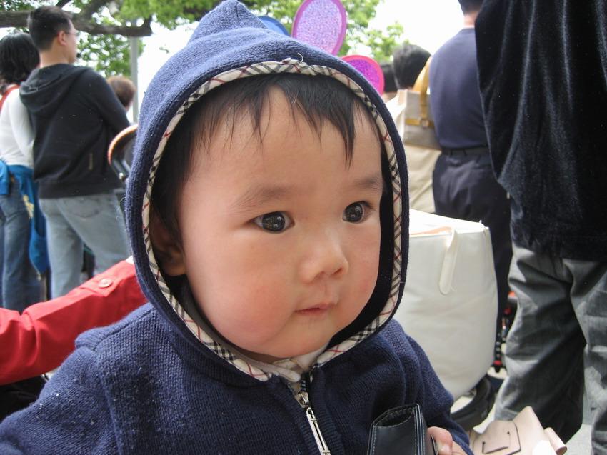 六月大眼睛小猪宝的点点滴滴***p1满六个月啦!