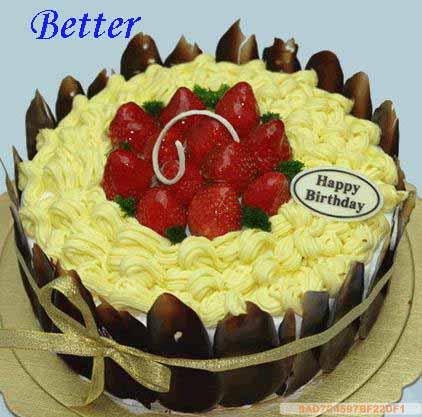 Better蛋糕鲜花店 创意定制生日蛋糕 多层精美婚庆蛋糕精 多图图片